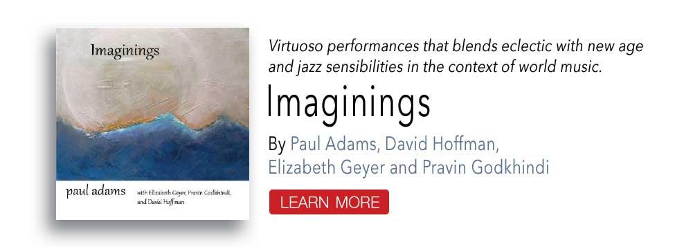 Imaginings CD by Paul Adams and Friends